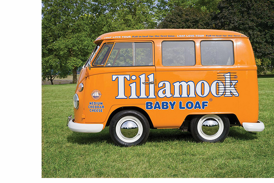 Tillamook Loaf Love tour bus